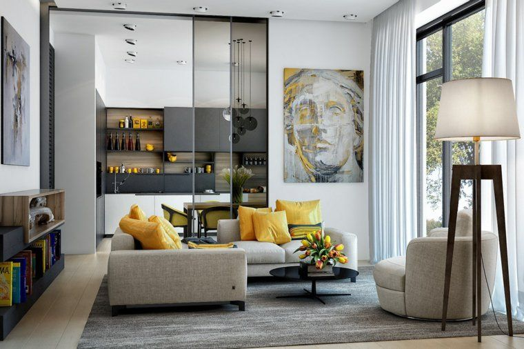 Arredare casa moderna colori soggiorno tendenze 2018