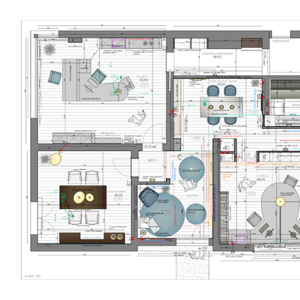 Architetto interior designer studio e preventivo progetto for Progetti architettura on line
