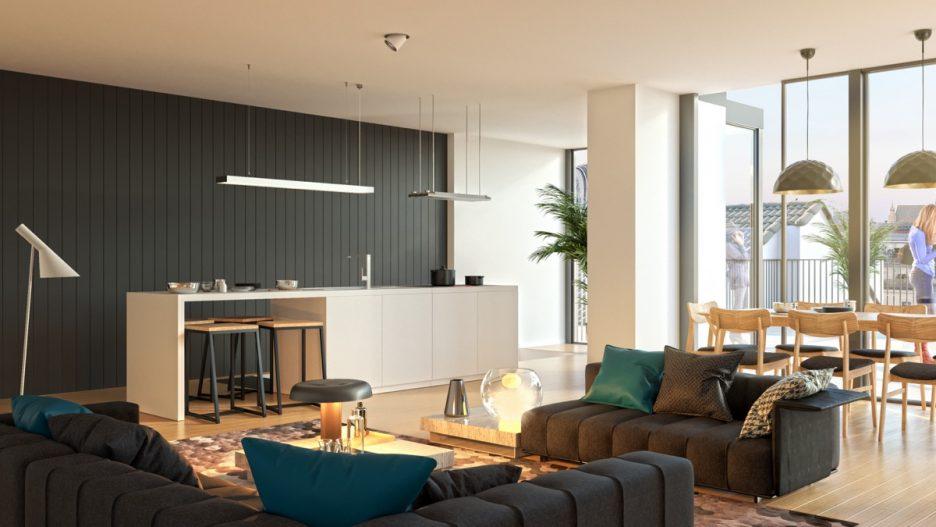 Arredare zona living idee arredamento soggiorno moderno for Arredare insieme