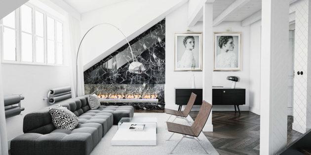 Arredamento soggiorno moderno design consigli e idee per for Soluzioni di arredo per soggiorni