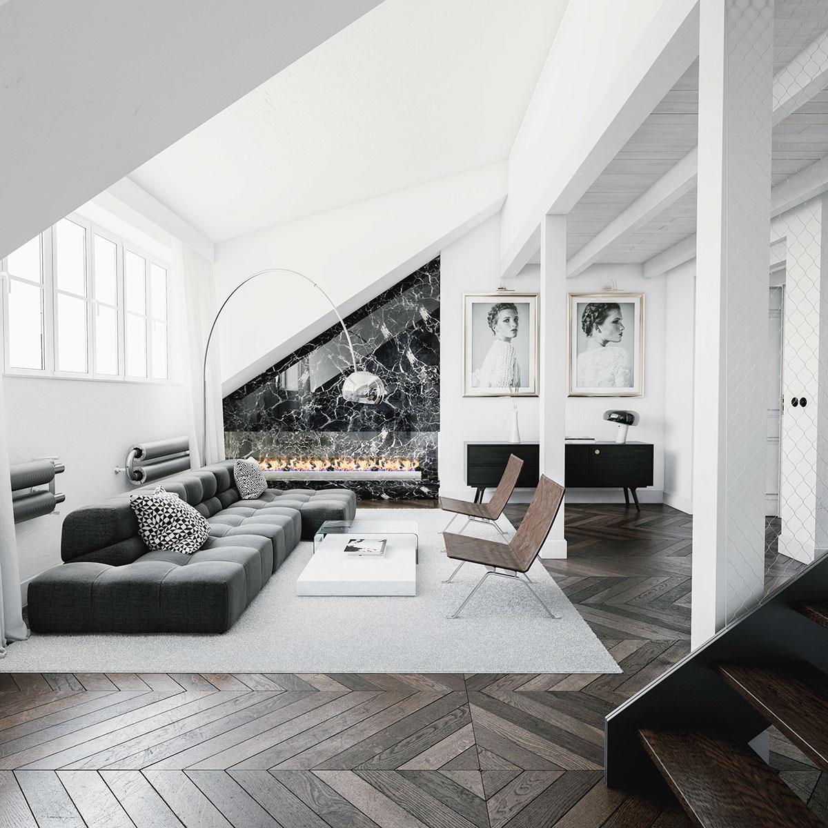 Ispirazioni per arredare una zona living open space i for Consigli architetto