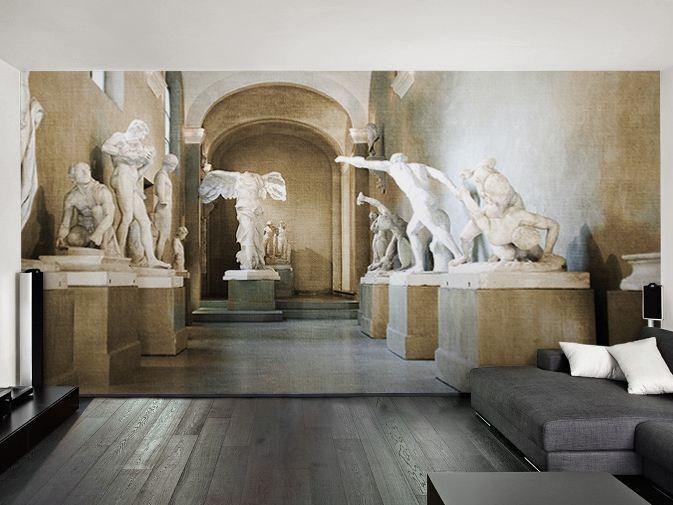 Arredamento soggiorno moderno design consigli e idee per for Carta da parati per soggiorno moderno
