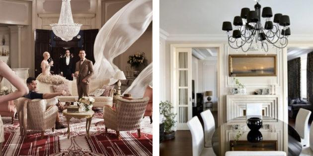 Arredamento stile classico moderno mix elegante for Arredamento lussuoso