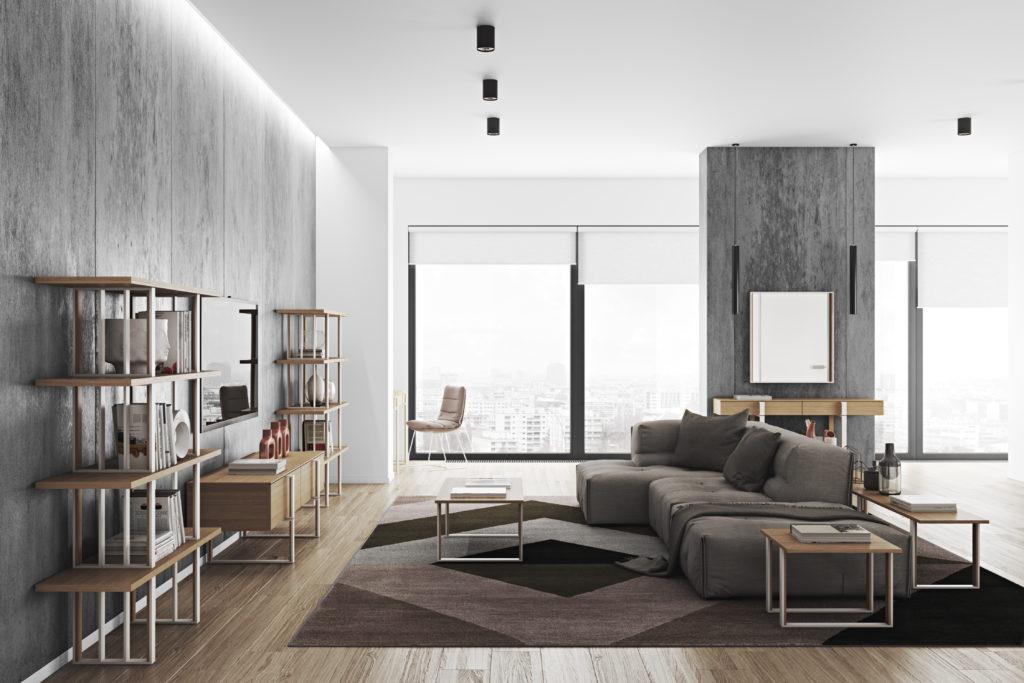 arredare zona living idee arredamento soggiorno moderno
