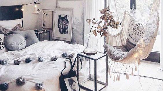 Una camera da letto romantica a meno di 500€