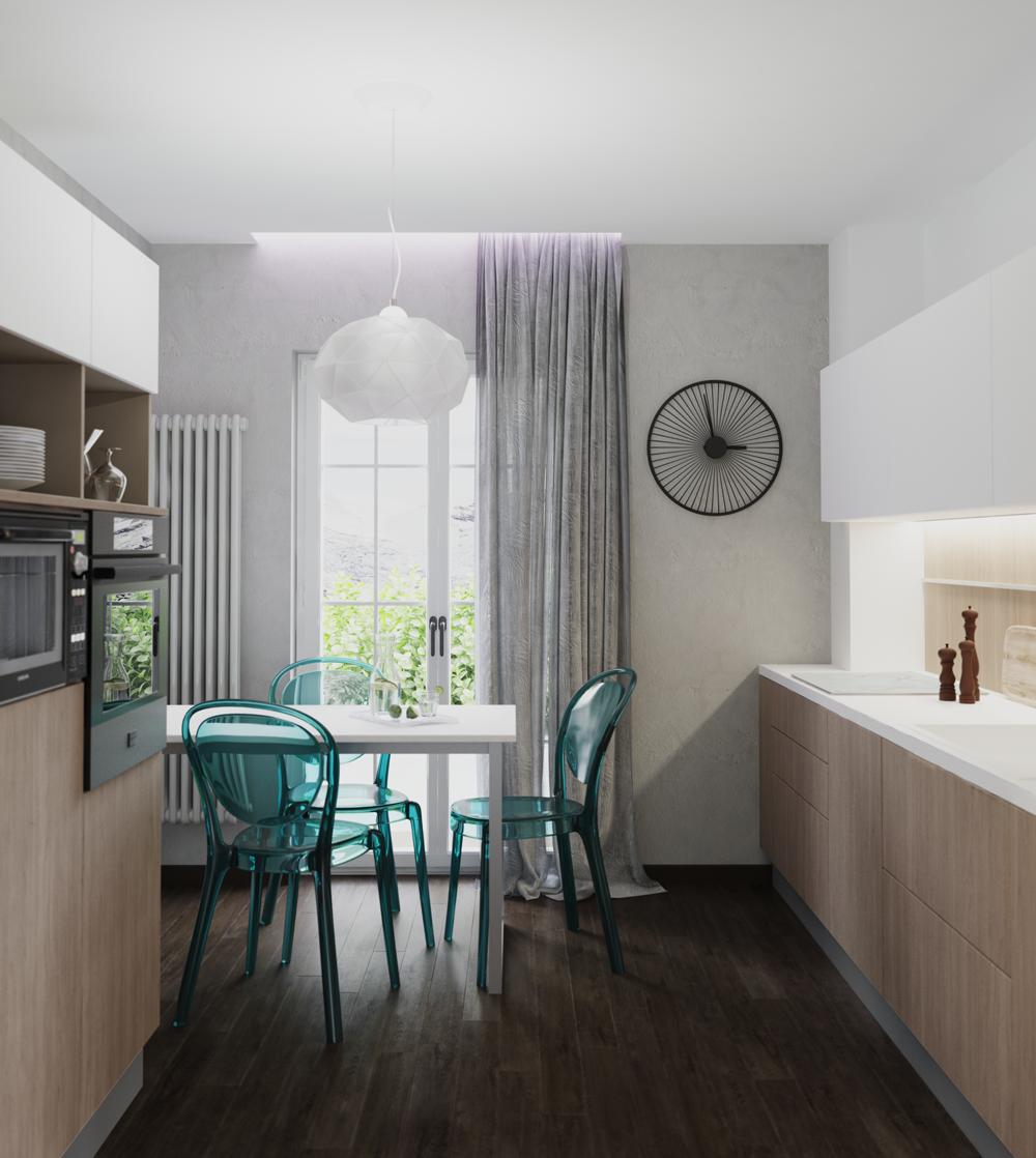 Creare open space i miei progetti per arredare cucina e soggiorno insieme - Open space cucina soggiorno ...