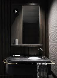 Come arredare un bagno moderno grigio scuro: idee e rivestimenti di ...