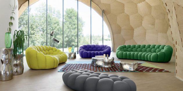 Divani moderni 2018: i più bei divani di tendenza dal design particolare