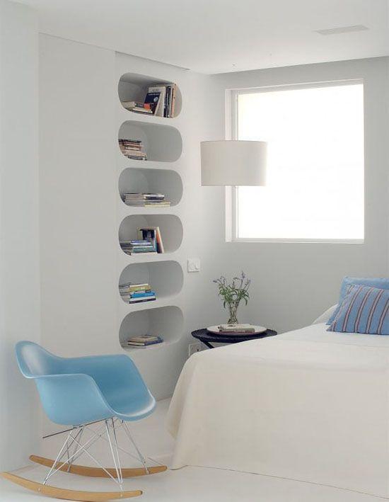 Come arredare una nicchia 50 idee dell 39 architetto per - Arredare camera da letto 9 mq ...