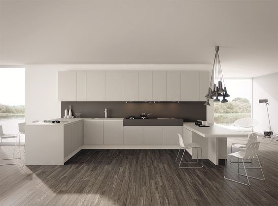Come arredare una cucina moderna bianca? 100 immagini mozzafiato