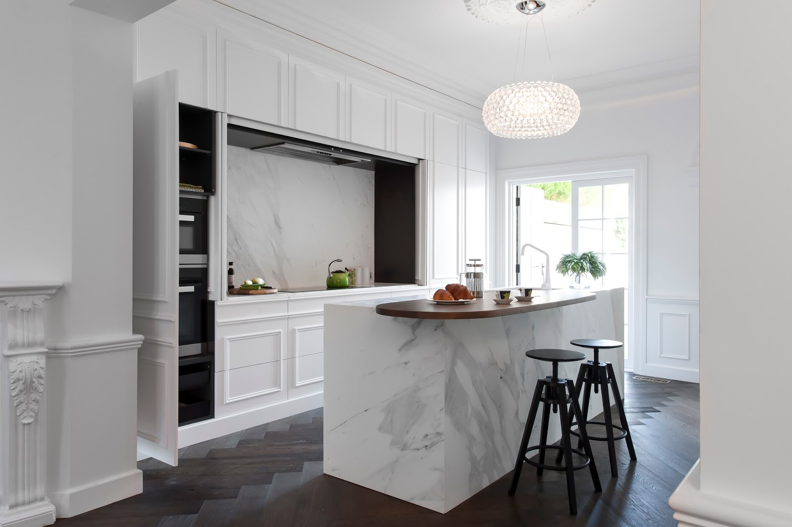 Come arredare una cucina moderna bianca immagini mozzafiato