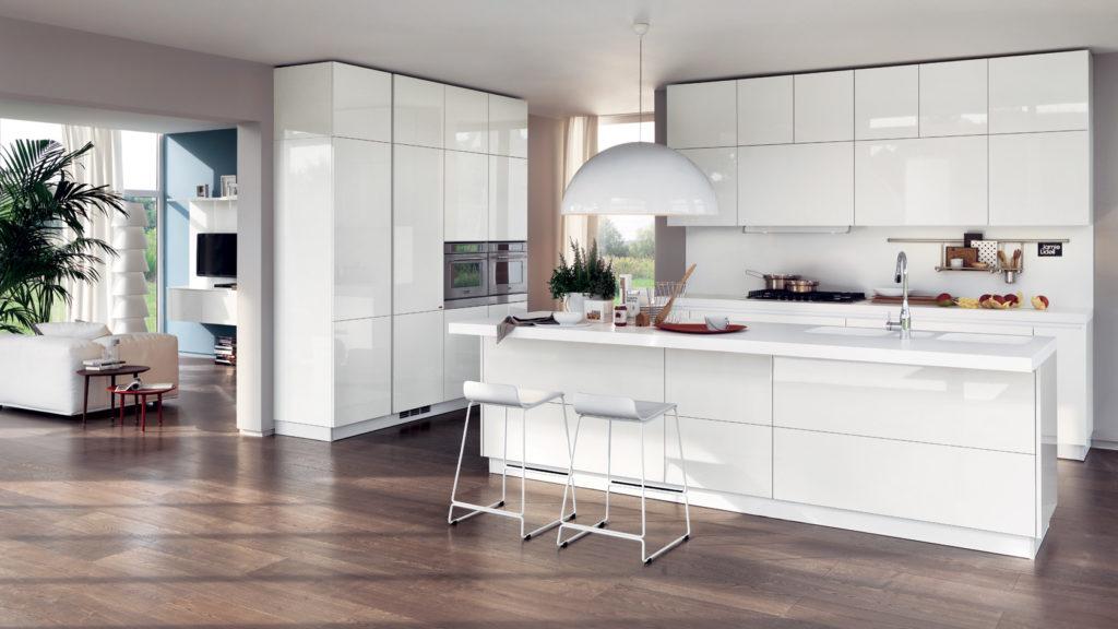 Cucina Moderna Bianca Laccata.Come Arredare Una Cucina Moderna Bianca 100 Immagini Mozzafiato