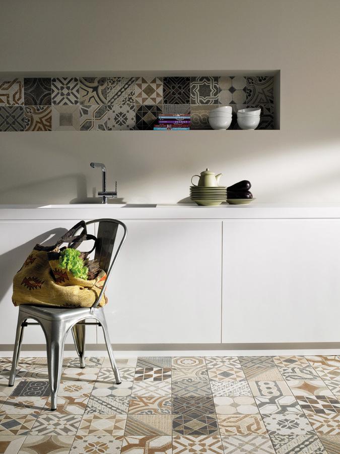 Come arredare una nicchia 50 idee dell 39 architetto per sfruttare piccoli spazi - Mensole cucina country ...