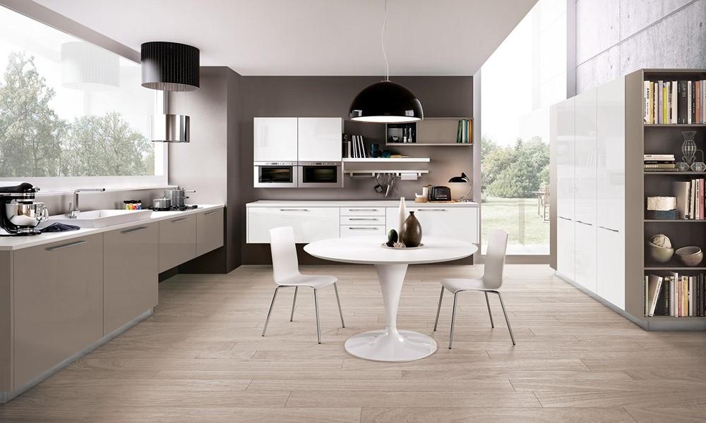 Come arredare una cucina moderna bianca 100 immagini for Arredare la cucina