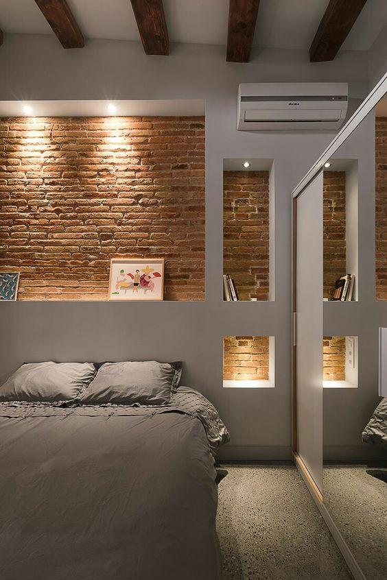 Come arredare una nicchia camera da letto
