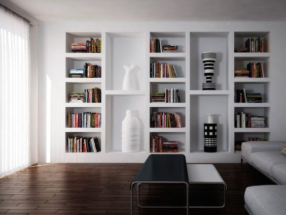 Nicchie come arredarle 50 soluzioni bellissime da copiare for Nicchie nelle pareti