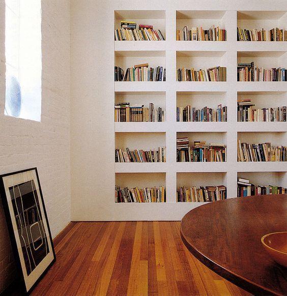 Come arredare una nicchia nel muro e fare una libreria