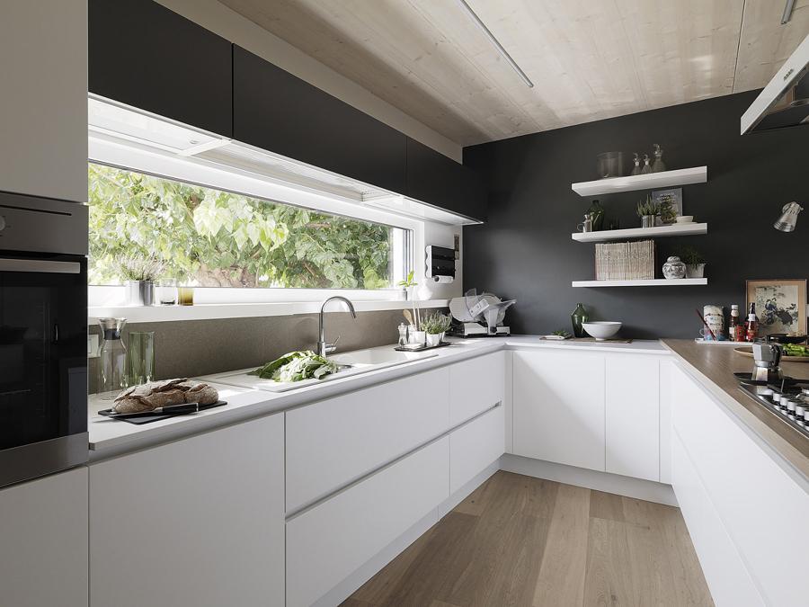 Cucina Bianca Moderna Con Tavolo Antico.Come Arredare Una Cucina Moderna Bianca 100 Immagini Mozzafiato