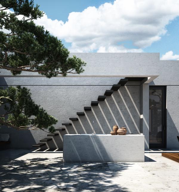 progetto ristrutturazione esterna villa