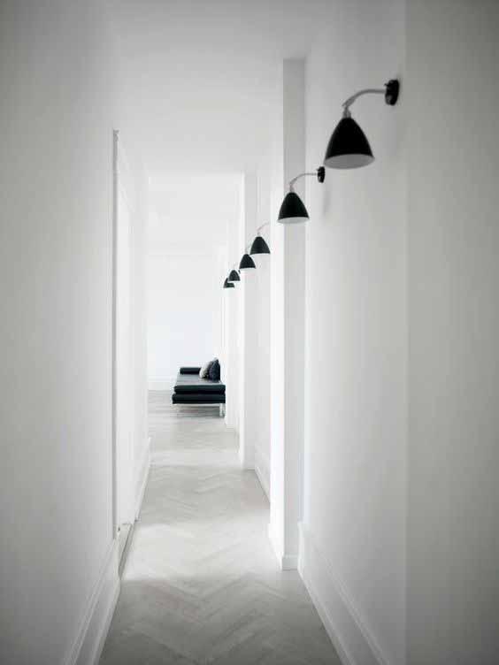 arredare un corridoio stretto controsoffitti