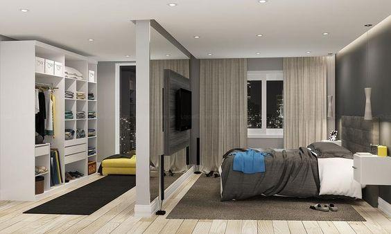 Progettare una cabina armadio con muri in carongesso