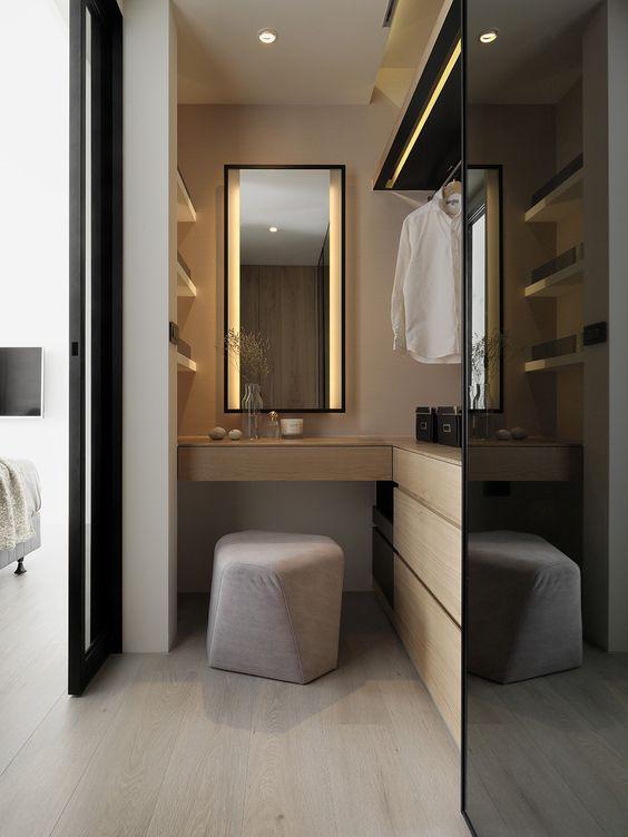Progettare una cabina armadio dividendo stanza