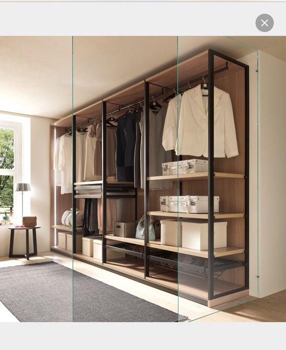 Progettare una cabina armadio a vista