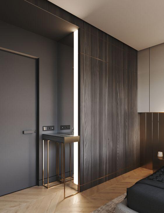 Progettare una cabina armadio in legno filo muro