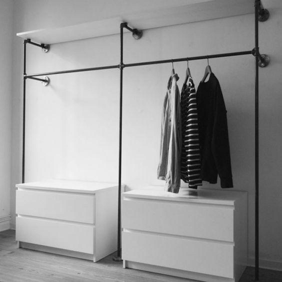 Progettare una cabina armadio componibile