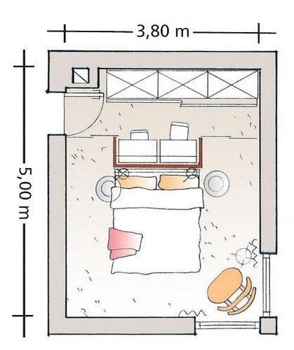 Progettare una cabina armadio divisa da muri in cartongesso