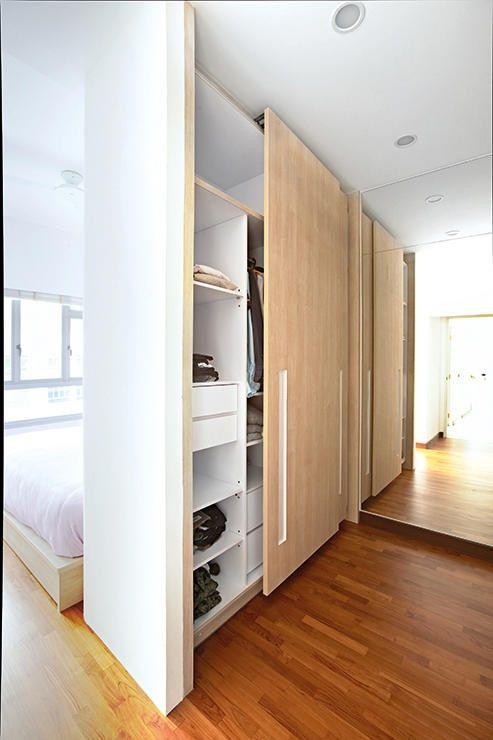 Cabina armadio per dividere camera da letto