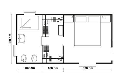 Misure Standard Camera Letto Matrimoniale.Progettare Una Cabina Armadio Misure E Dimensioni Minime Per Il Fai