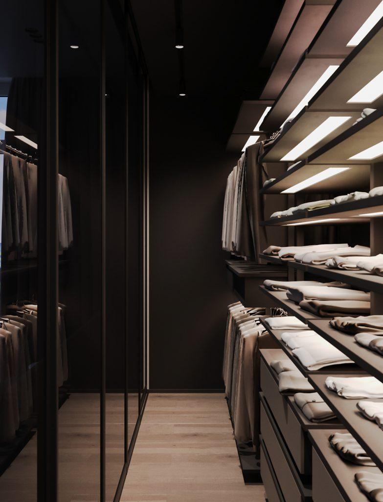 cabina armadio personalizzata atelier