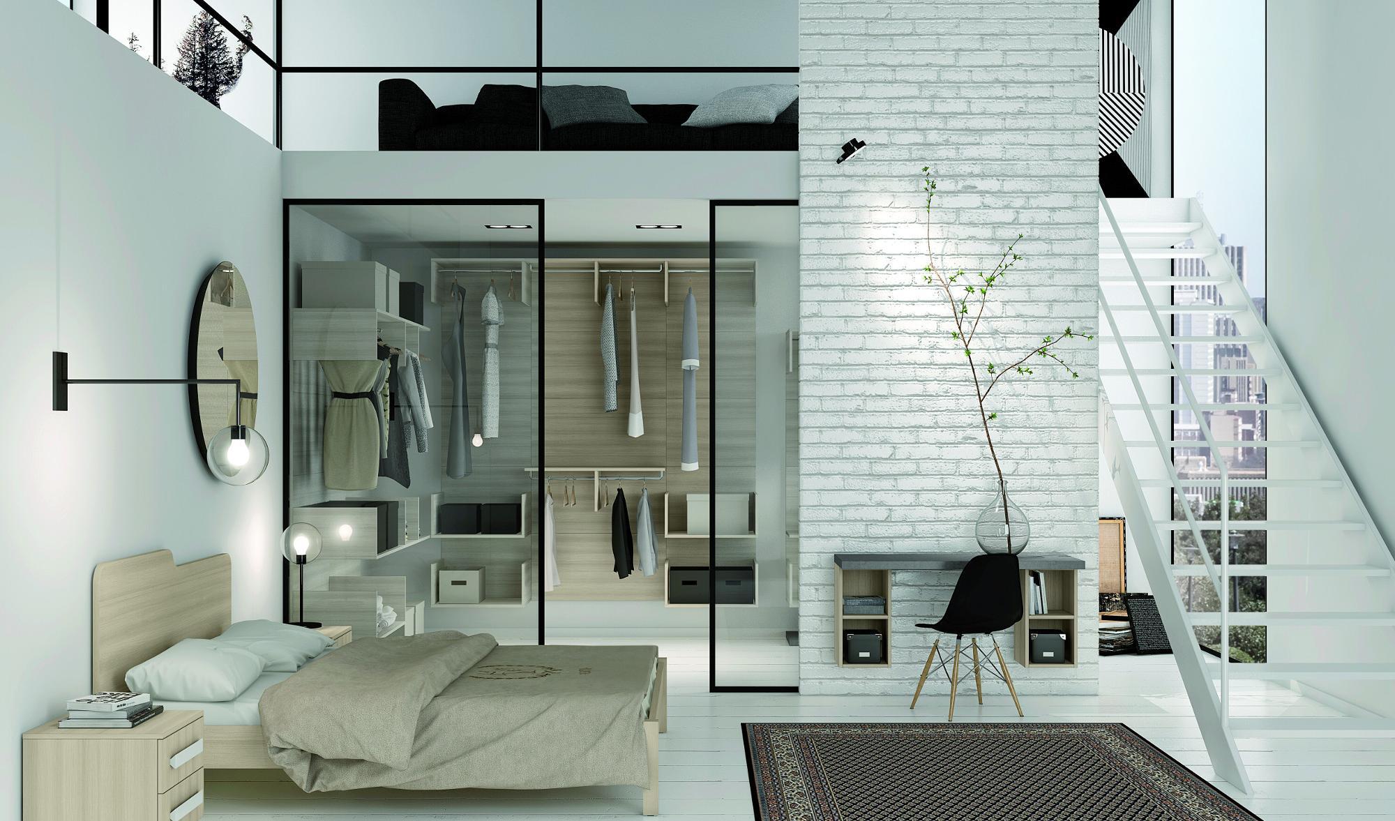 Progettare una cabina armadio misure e dimensioni minime for Camera da letto con armadio