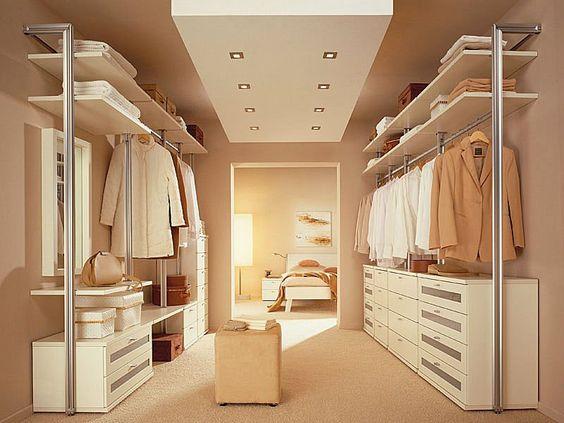 idee cabina armadio ad u