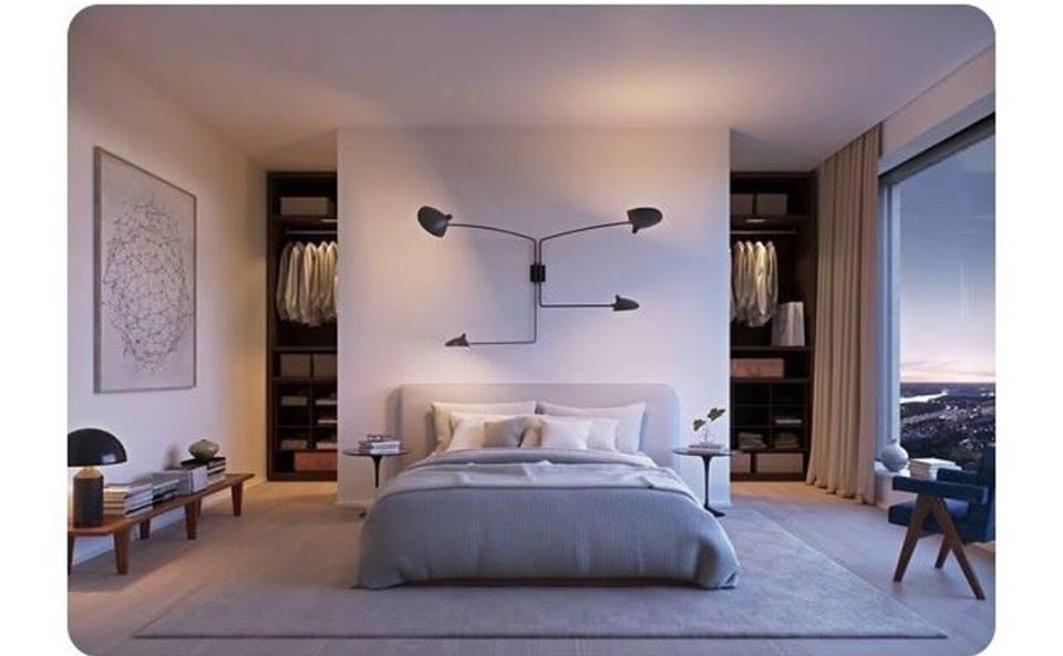 Progettare una cabina armadio misure e dimensioni minime per il fai da te - Armadio dietro letto matrimoniale ...