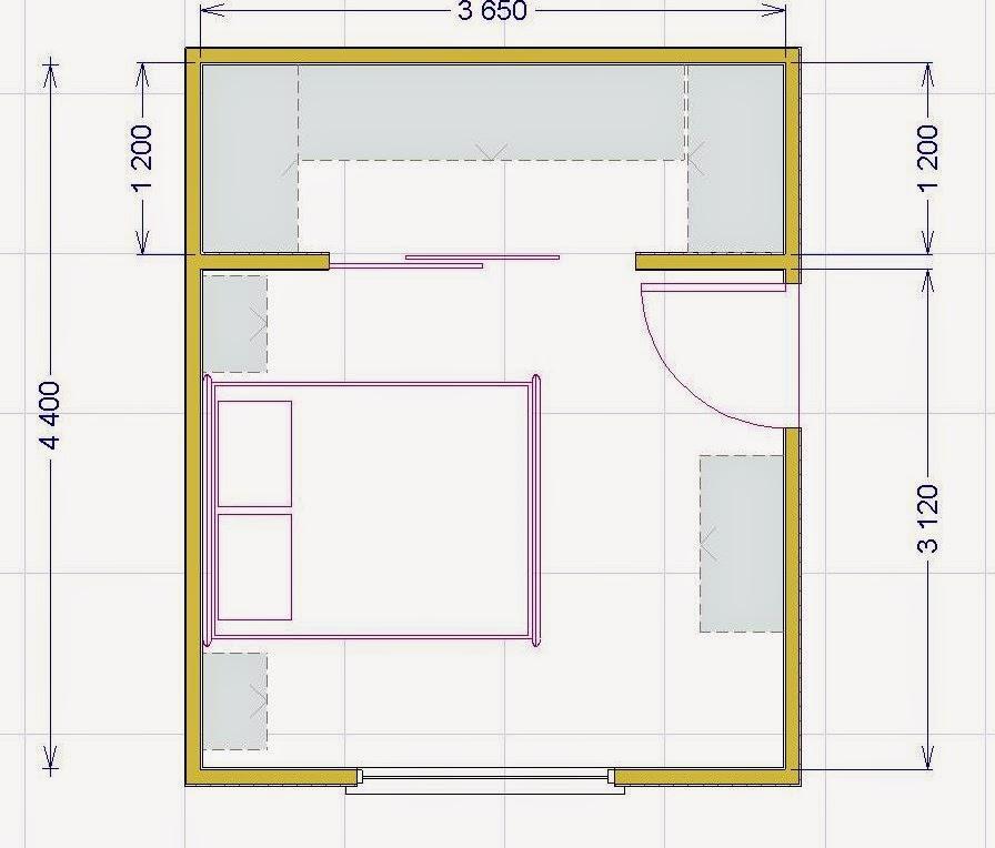Progettare una cabina armadio misure e dimensioni minime per il fai da te - Dimensioni armadio camera da letto ...