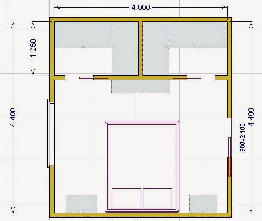 Armadio A Ponte Dimensioni.Progettare Una Cabina Armadio Misure E Dimensioni Minime Per Il Fai