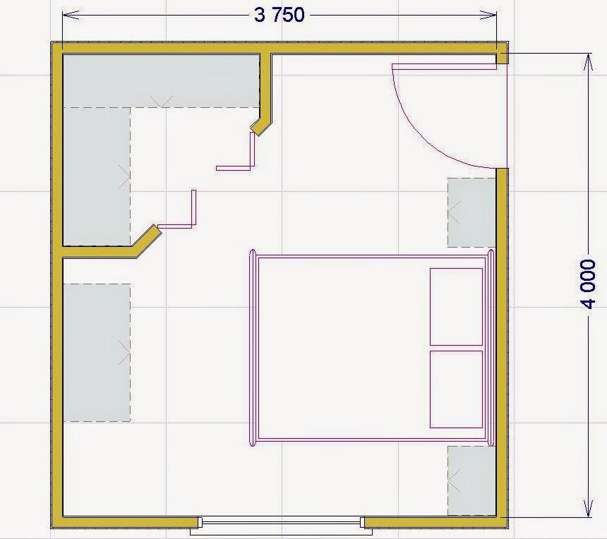 Progettare una cabina armadio misure e dimensioni minime per il fai da te - Misure cabine armadio ...