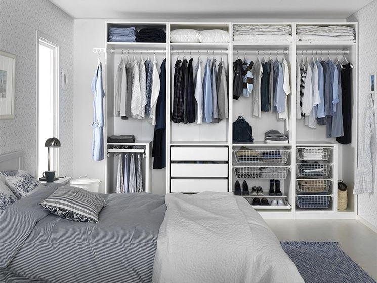 Armadio Ad Angolo Piccolo Ikea.Progettare Una Cabina Armadio Misure E Dimensioni Minime Per Il Fai