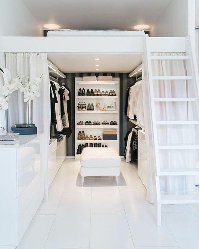 Progettare una cabina armadio soppalco