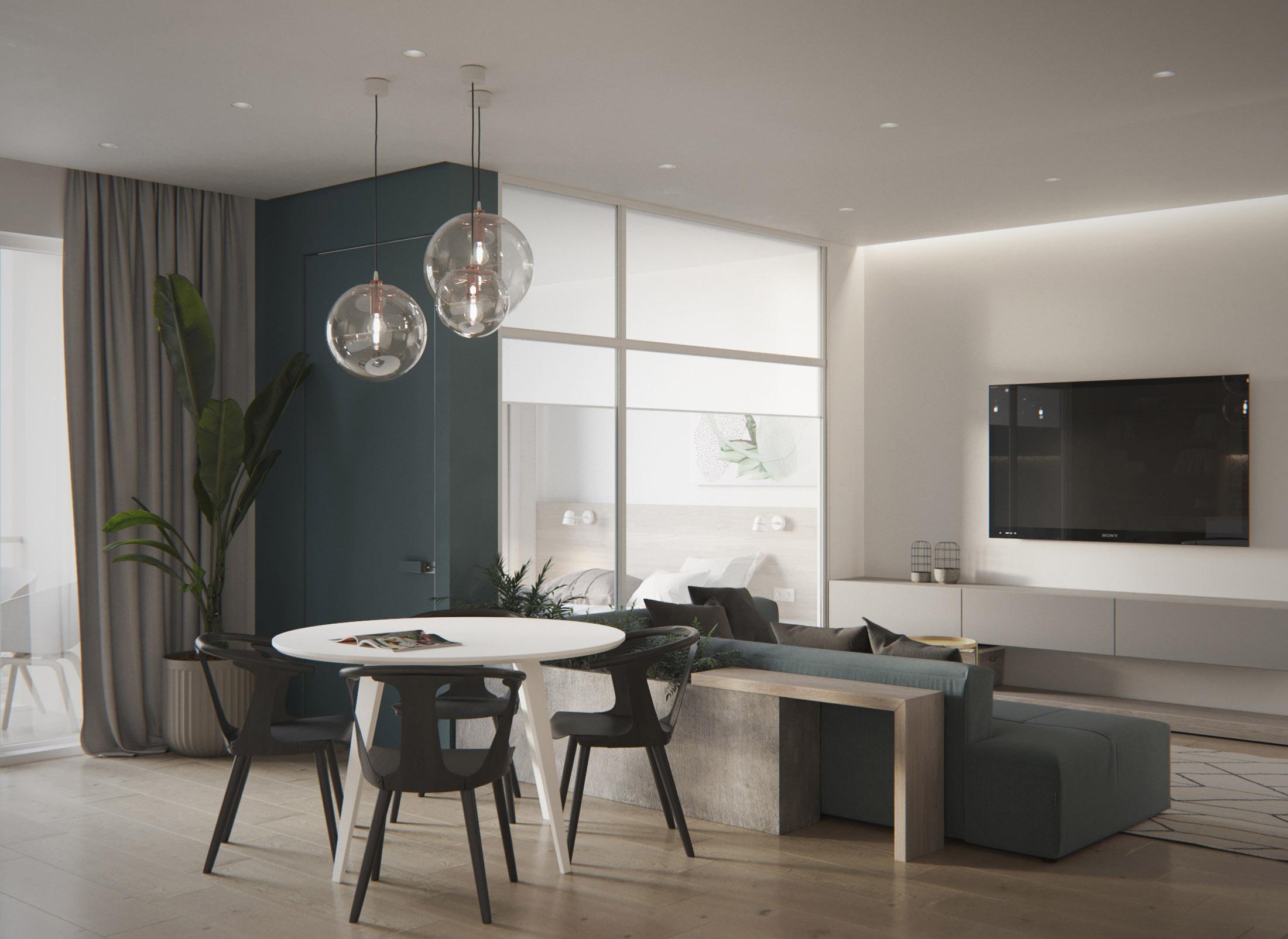 Abbinamento colore per gli interni contemporanei la for Colori moderni per interni