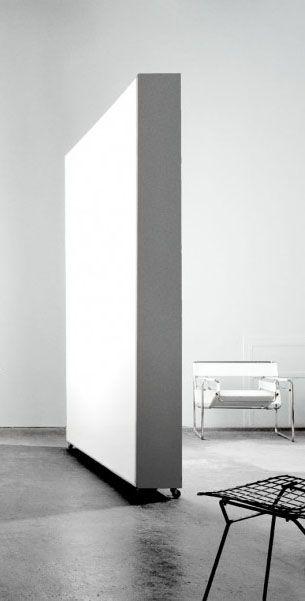 Come dividere una stanza in due con arredo movibile