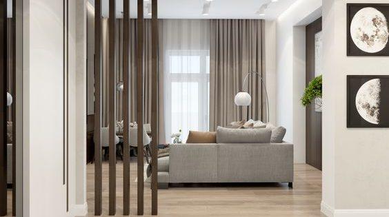 Come dividere una stanza in due con un 39 elegante soluzione di arredo - Dividere una camera in due ...