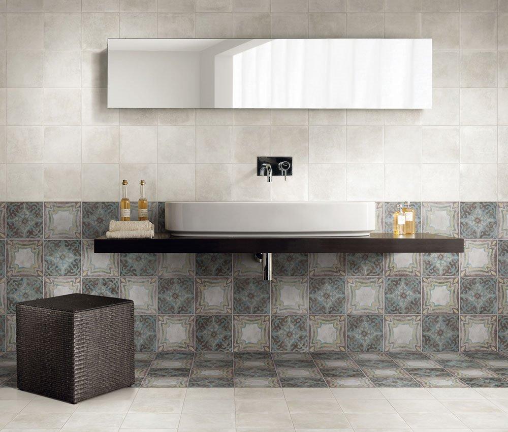 Piastrelle Bagno Mosaico Viola scegliere i rivestimenti bagno: 10 idee per abbinare i