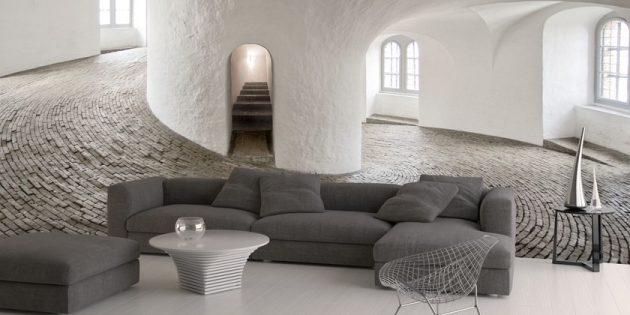 Carta da parati moderna materiali ed effetti dal design for Carta da parete per camera da letto