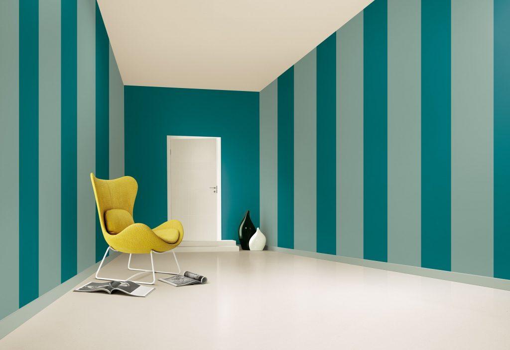 Colori pitture per pareti a strisce