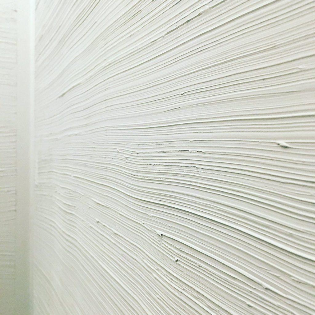 Colori pitture per pareti Effetto Matrico Rigato bianco