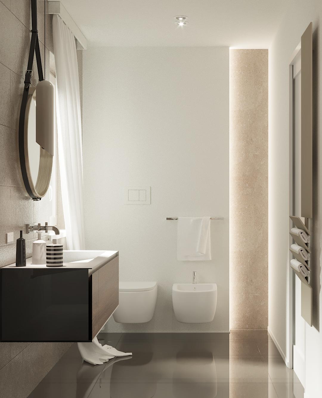 Illuminare il bagno le pi belle lampade a sospensione per specchi e soffitti - Illuminare il bagno ...