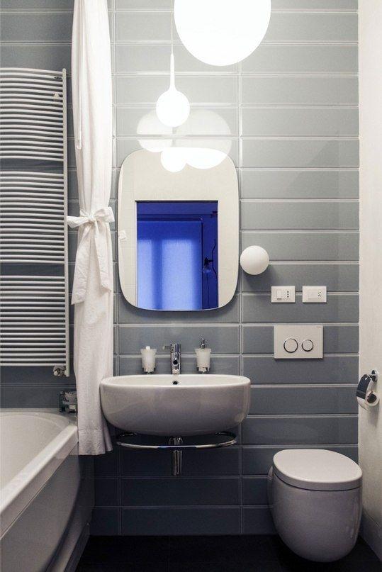 Illuminare il bagno lampada a sospensione in vetro